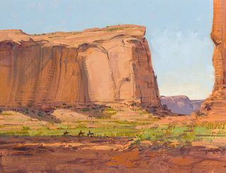 Spike Ress | Morning Ride Monument Valley