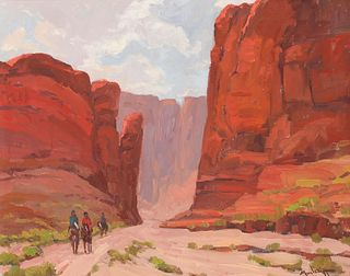 John Modesitt | The Journey West - Canyon de Chelly