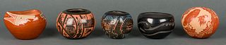 Various Artists | Lot of Five Small Pots