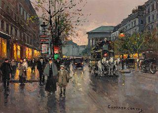 Edouard Leon Cortes (French, 1882-1969) Madeleine