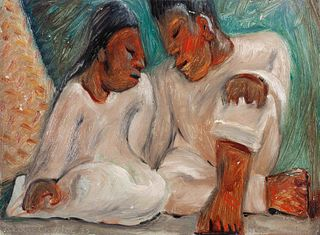Jean Charlot (French, 1898-1979) Lovers, 1930