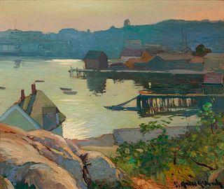 George Ames Aldrich (American,  1872-1941) Gloucester Harbor