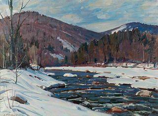 Aldro Hibbard (American, 1886-1972) Winter River