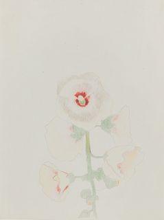 Joseph Stella (American, 1877-1946) Hollyhocks, c. 1919