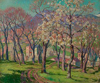 William Samuel Horton (American, 1865-1936) Springtime in Provence