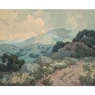 Marion Ida Kavanagh Wachtel (American, 1876-1954) Sierra Mountains