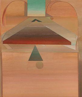Miyoko Ito (American, 1918-1983) Pyramid for Stevens