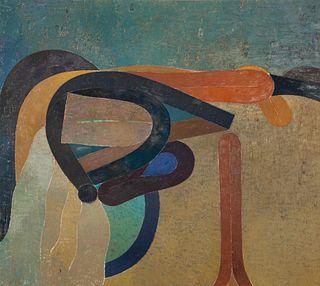 Miyoko Ito (American, 1918-1983) Susquehanna (The River), 1959