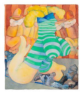 Gladys Nilsson (American, b. 1940) Big Floor Show, c. 1967