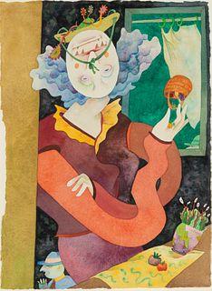 Gladys Nilsson (American, b. 1940) Basket Case, 1993