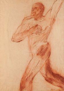 Leon Golub (American, 1922-2004) Untitled, 1964