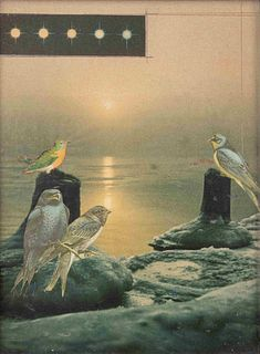 Joseph Cornell (American, 1903-1972)  Untitled (For Caroline von Gunderode)