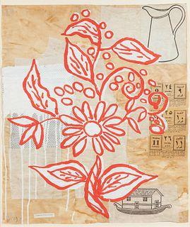 Donald Baechler (American, b. 1956) Flower, 1992