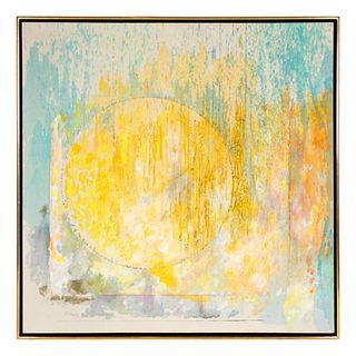 Gyorgy Kepes (American/Hungarian, 1906-2001) Hazy Glow, 1988