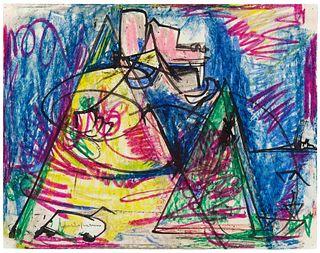Hans  Hofmann (American, 1880-1966) Untitled, 1941