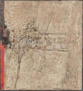 Karl-Fred Dahmen (German, 1917-1981) Untitled (Peinture), 1961