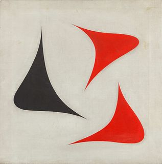 Jose De Rivera (American, 1904-1985) Untitled (Three Elements), c. 1945