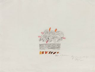 Cy Twombly (American, 1928-2011) Untitled, 1965