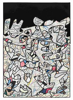 Jean Dubuffet (French, 1901-1985) Paysage, 1974