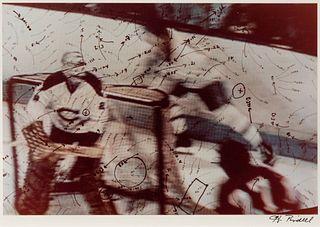 Howardena Pindell (American, b. 1943) Video Drawing: Hockey Series, 1973-1976