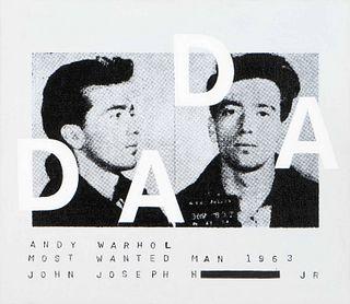 Richard Pettibone (American, b. 1938) Andy Warhol, Most Wanted Man #11, Dada 1963, 2002