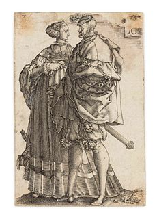 Heinrich Aldegrever (German, 1502-ca. 1561) Wedding Dancers (four plates, various sizes), 1538
