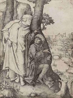 Lucas van Leyden (Dutch, 1494-1533) Susanna and the Two Elders, ca. 1509