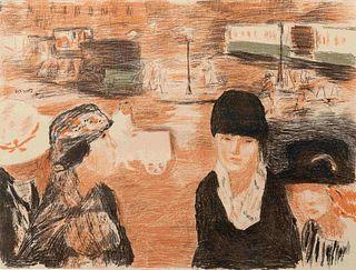 Pierre Bonnard(French, 1867-1947)Place Clichy, 1922