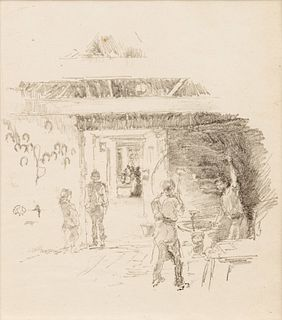 James Abbott McNeill Whistler (American, 1834-1903) A group of three lithographs (Tyresmith; Firelight: Joseph Pennell No. 1; Little Evelyn)