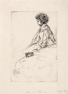 James Abbott McNeill Whistler (American, 1834-1903) Bibi Lalouette, 1859