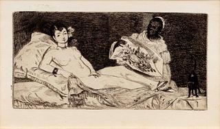 Edouard Manet (French, 1832-1883) Olympia, 1867