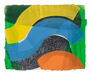 Howard Hodgkin (British, 1932-2017) Put Out More Flags, 1992
