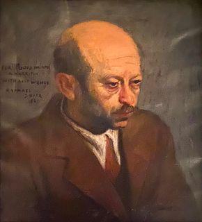 Raphael Soyer, Abraham Harriton Portrait
