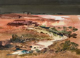 Laurence Philip Sisson | River Running through Landscape