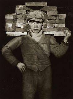 "Auguste Sander ""Bricklayer"" Photograph"