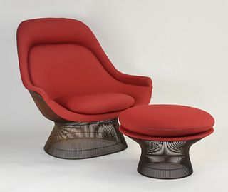 "The ""Platner Easy Chair"""