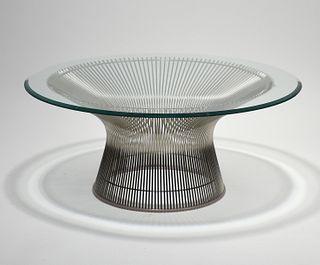 Warren Platner by Knoll coffee table