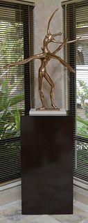 Manuel Carbonell bronze sculpture