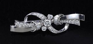 Platinum bow pin