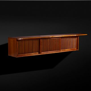 George Nakashima, Exceptional Hanging Wall Cabinet
