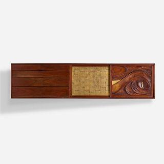 Phillip Lloyd Powell, wall-mounted cabinet
