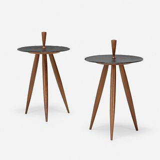 Phillip Lloyd Powell, occasional tables, pair