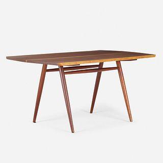 George Nakashima, Rare Woodruff dining table
