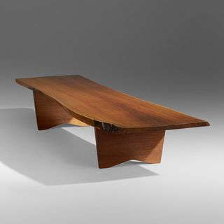 George Nakashima, Slab coffee table