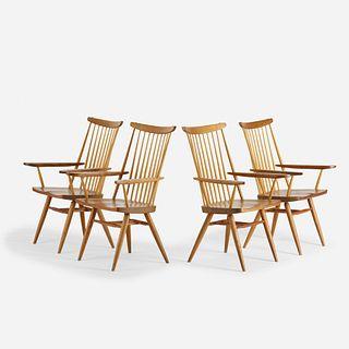 Mira Nakashima, New Chairs, set of four