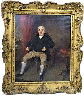 Thomas Arrowsmith  (1772-1830) England, O/C