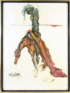 John Coppin  (1904 - 1986) American, Oil/Board