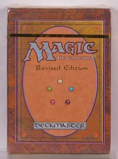 1994 WOTC Magic The Gathering Revised Starter Deck
