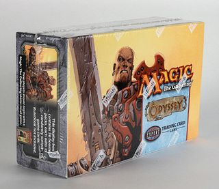 2001 Magic The Gathering Odyssey TCG Booster Box