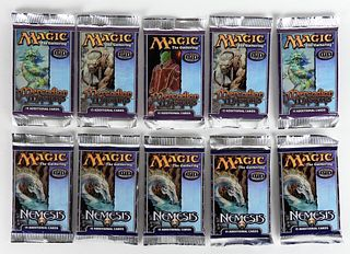 10PC Magic The Gathering Mercadian Masques Nemesis
